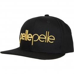 Pelle Pelle Snapback Cap Recognize schwarz
