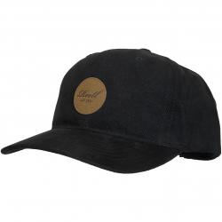 Reell Snapback Cap Curved schwarz