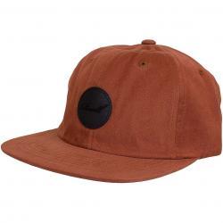 Reell Snapback Cap Flat burned red
