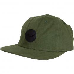 Reell Snapback Cap Flat oliv