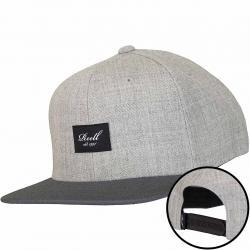 Reell  Snapback Cap Pitchout hellgrau/dunkelgrau