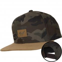Reell Snapback Cap Suede camouflage