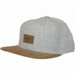 Reell Snapback Cap Suede heather light grey