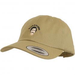Mister Tee Snapback Cap TurnUp Plata khaki