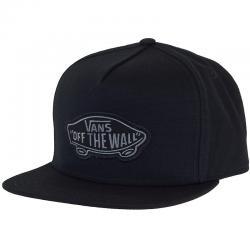 Vans Snapback Cap Classic Patch schwarz