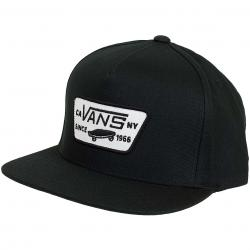 Vans Snapback Cap Full Patch schwarz