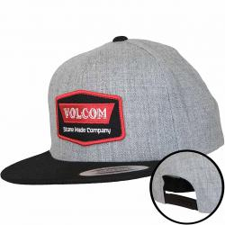 Volcom Snapback Cap Cresticle rot