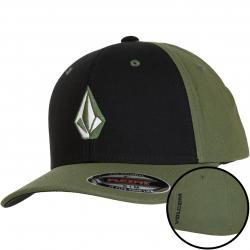 Volcom Flexfit Cap Full Stone heather army