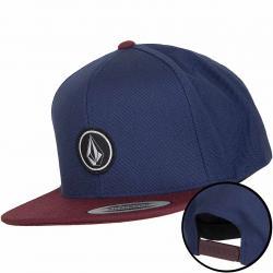Volcom Cap Quarter Twill blau/weinrot