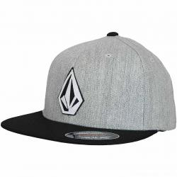 Volcom Flexfit Cap Stone Stack grau