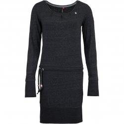 Ragwear Kleid Alexa schwarz