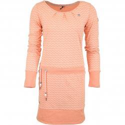 Ragwear Kleid Alexa Zig Zag E apricot