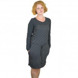 Ragwear Kleid Nuggie schwarz