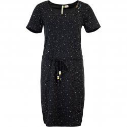 Ragwear Peliada Organic Kleid schwarz