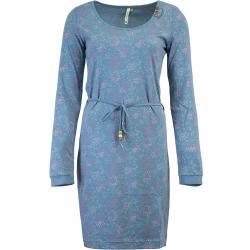 Kleid Ragwear Peliada Organic blau