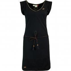 Ragwear Slavka Damen Kleid schwarz