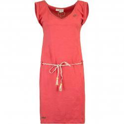 Ragwear Slavka Damen Kleid rot