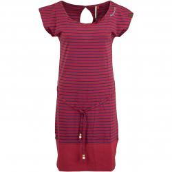 Ragwear Kleid Soho Stripes rot