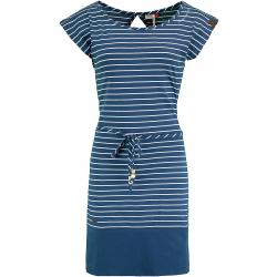 Ragwear Kleid Soho Stripes dunkelblau