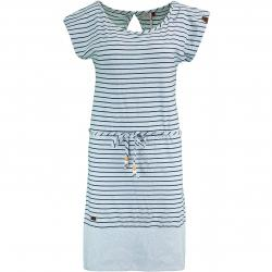 Ragwear Kleid Soho Stripes hellblau