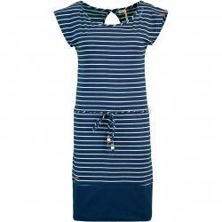 Ragwear Soho Stripes Kleid navy