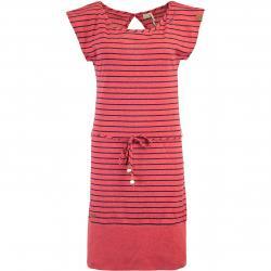 Ragwear Soho Stripes Kleid rot
