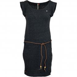 Ragwear Kleid Tag schwarz