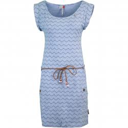 Ragwear Tag Chevron Damen Kleid blau