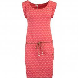 Ragwear Tag Chevron Kleid rot