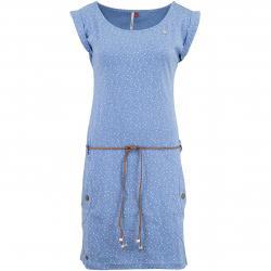 Ragwear Kleid Tag Dots blau