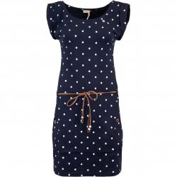 Ragwear Tag Dots Kleid navy