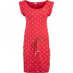Ragwear Tag Dots Kleid rot