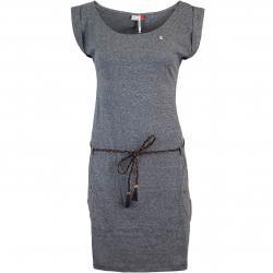 Ragwear Tag Damen Kleid grau