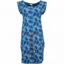 Ragwear Kleid Tag Leaves blau