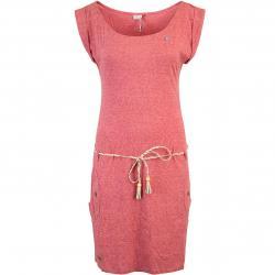 Ragwear Tag Damen Kleid rot