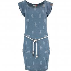 Ragwear Kleid Tag Tiger blau