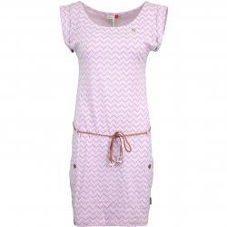 Ragwear Kleid Tag Zig Zag rosa