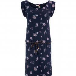 Ragwear Kleid Tamy Flowers dunkelblau