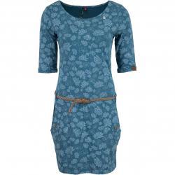 Ragwear Kleid Tanya Flowers blau