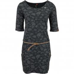 Ragwear Kleid Tanya Flowers schwarz