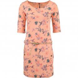 Ragwear Kleid Tanya Flowers E orange