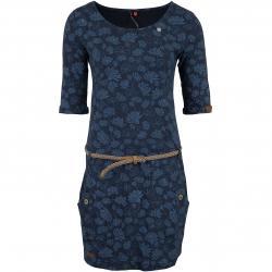 Ragwear Kleid Tanya Flowers dunkelblau