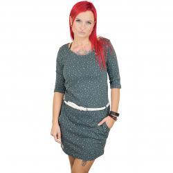 Ragwear Kleid Tanya Organic dunkelgrün