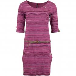 Ragwear Kleid Tanya Print rosa