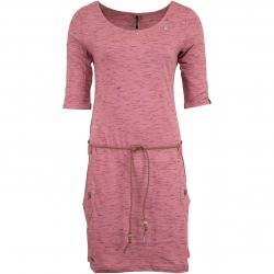 Ragwear Kleid Tanya Slub alt rosa