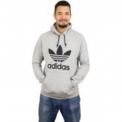 Adidas Originals Hoody Trefoil grau