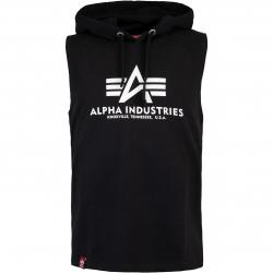 Alpha Industries Basic Hooded Tank Top schwarz
