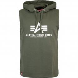 Alpha Industries Basic Hooded Tank Top dark olive