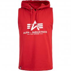 Alpha Industries Basic Hooded Tank Top rot