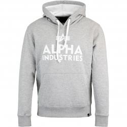 Alpha Industries Foam Print Herren Hoody grau